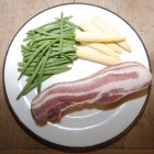Dry Cured Smoked Streaky Bacon 1x500g