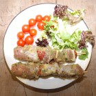 Chicken,Pork,Pepper & Sausage Kebab x 2